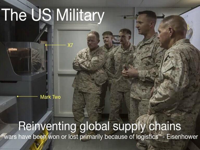Ako americká armáda prekonáva problémy dodávateľského reťazca vďaka 3Dtlači