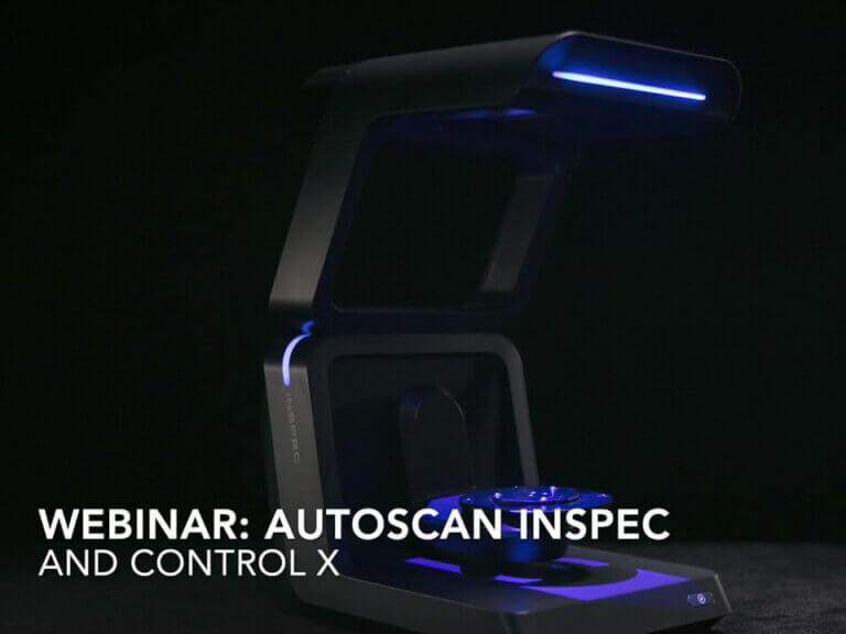 Automatizované metrologické 3Dskenovanie sAutoScan Inspec + Control X