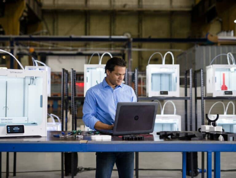 Virtuálna farma 3D tlačiarní