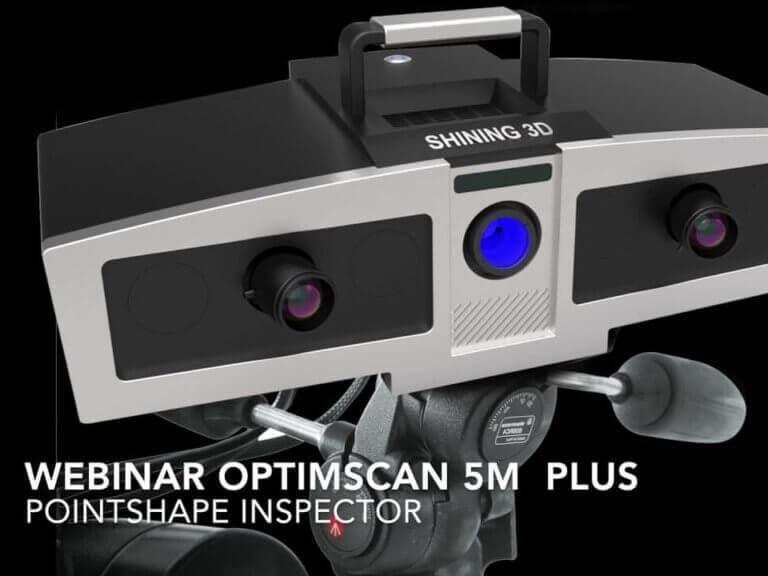 Ako narozmerovú inšpekciu priamo vo výrobe s3Dskenerom OptimScan 5M Plus + Pointshape