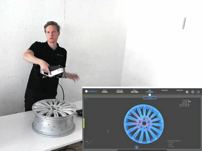 Prenosné metrologické skenovanie so skenermi FreeScan