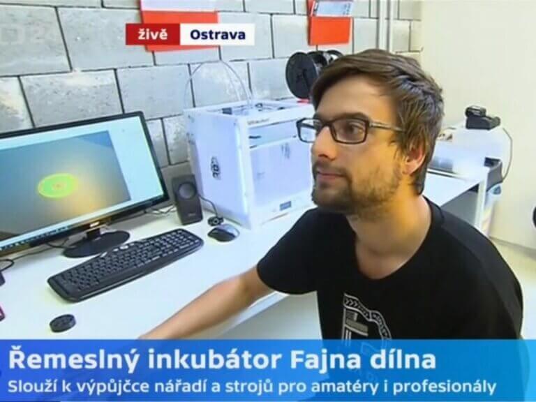 3D tlač inšpiruje inovátorov vremeselnom inkubátore Fajna dilna
