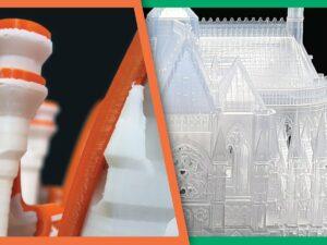 Ako automaticky očistiť podpory čiživice po3Dtlači